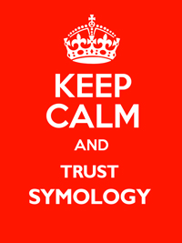 Keep Calm and Trust Symology